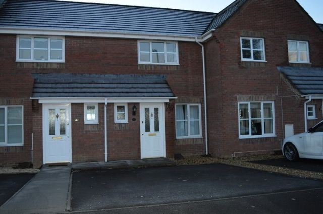Thumbnail Terraced house to rent in Clos Yr Hesg, Tregof Village
