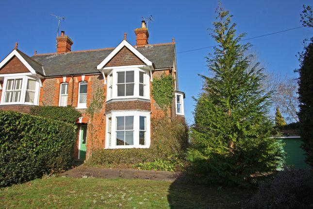 Thumbnail Semi-detached house for sale in Heartenoak Road, Hawkhurst, Cranbrook
