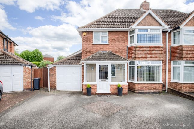 Thumbnail Semi-detached house for sale in Blandford Avenue, Castle Bromwich