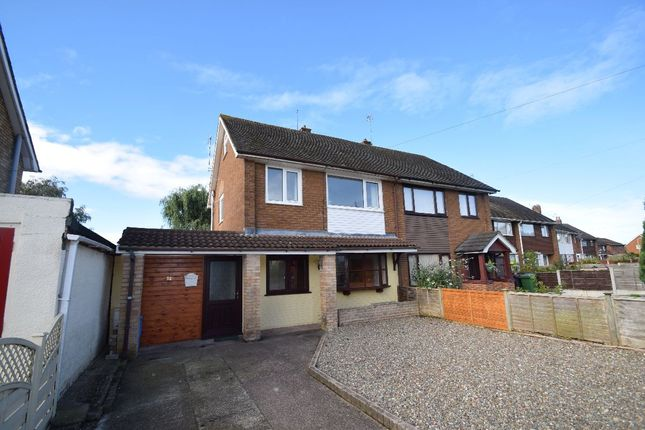 Thumbnail Semi-detached house to rent in Barnmeadow Road, Newport