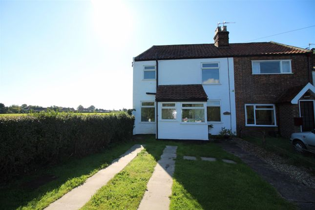 Thumbnail End terrace house for sale in Witton Green, Reedham, Norwich