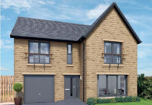 "Thumbnail Detached house for sale in ""Juniper At Cragside Gardens"" at Lordenshaw Drive, Rothbury, Morpeth"