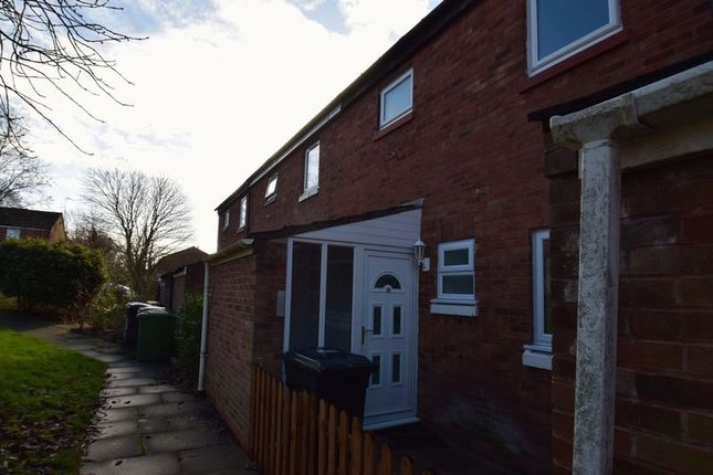 Thumbnail Terraced house to rent in Northleach Close, Redditch