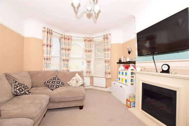 Thumbnail Terraced house for sale in Ashley Avenue, Cheriton, Folkestone, Kent