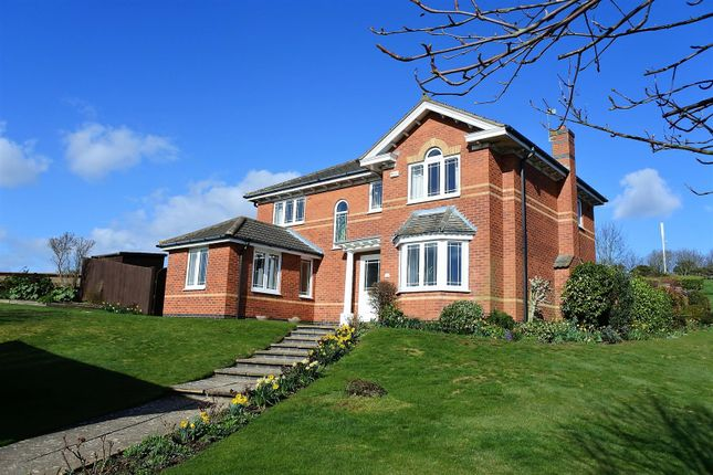 Thumbnail Detached house for sale in Grampian Way, Gonerby Hill Foot, Grantham