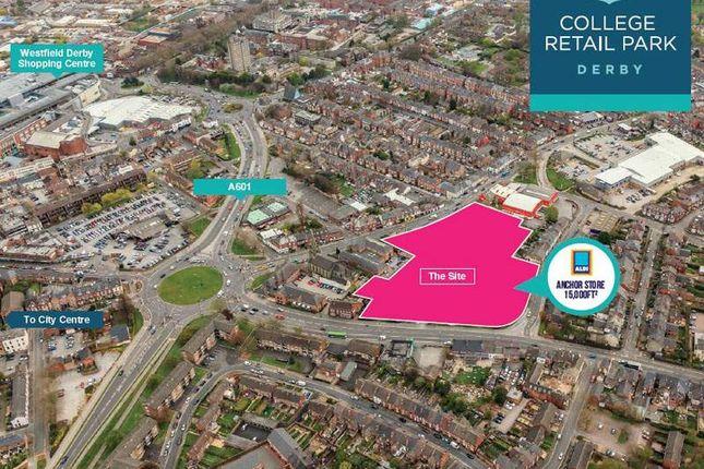 Thumbnail Retail premises to let in Unit 2 College Retail Park, Burton Road, Derby