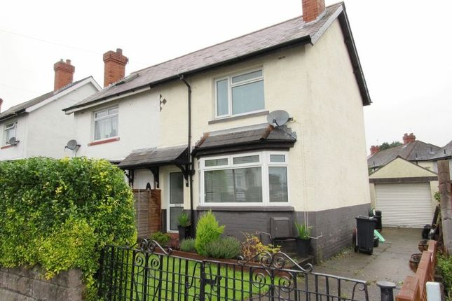 Thumbnail Semi-detached house for sale in Highmead Road, Ely, Cardiff