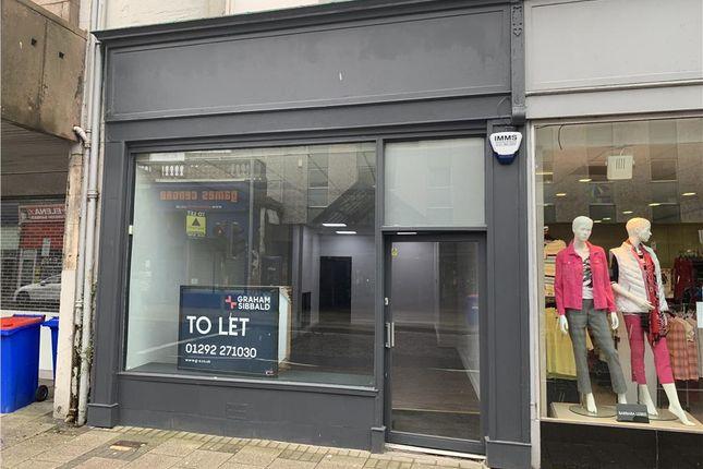 Thumbnail Retail premises to let in 49 Alloway Street, Ayr