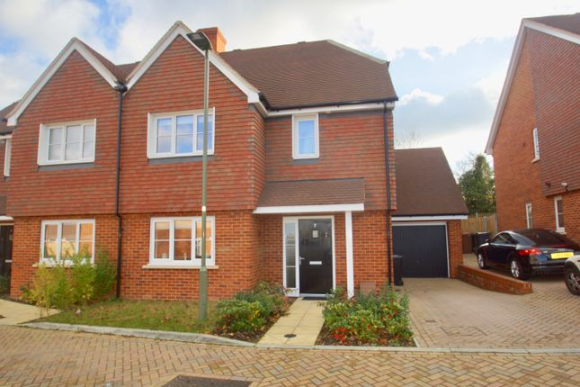 3 bed semi-detached house for sale in Skylark Close, Epsom