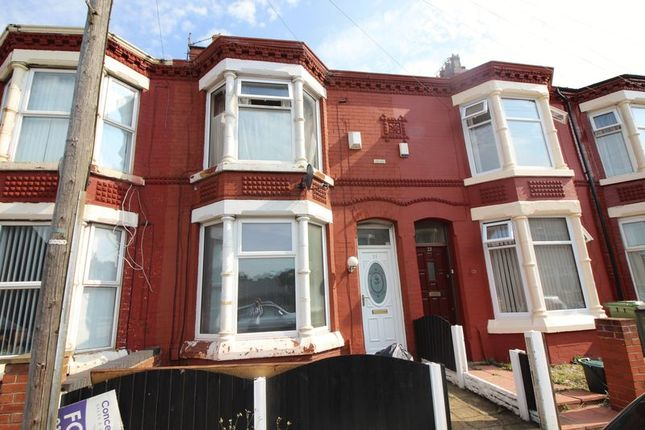 Thumbnail Terraced house for sale in Croxteth Avenue, Seaforth, Liverpool