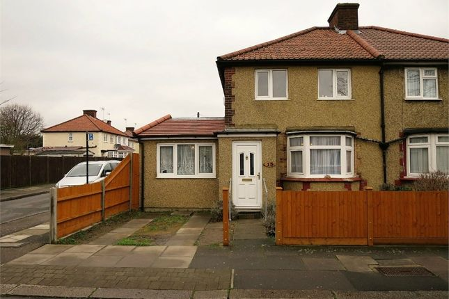 Thumbnail Semi-detached house for sale in Brecon Road, Enfield, Greater London