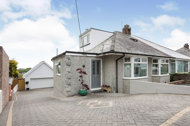 Thumbnail Semi-detached bungalow for sale in Charlton Road, Crownhill, Plymouth