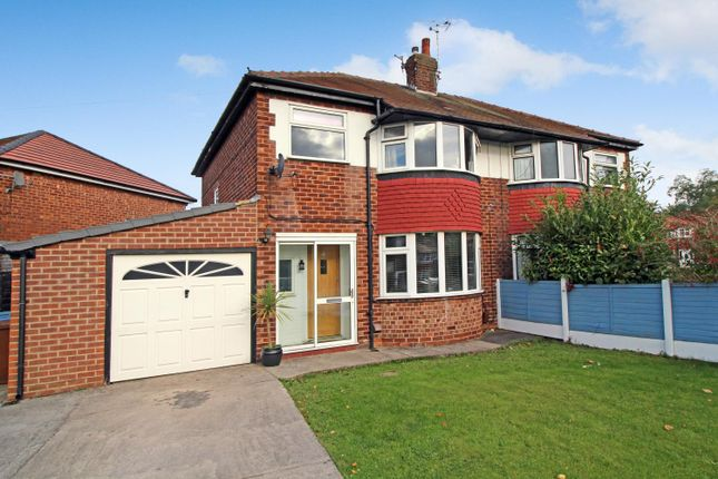 Thumbnail Semi-detached house for sale in Kenilworth Road, Cheadle Heath