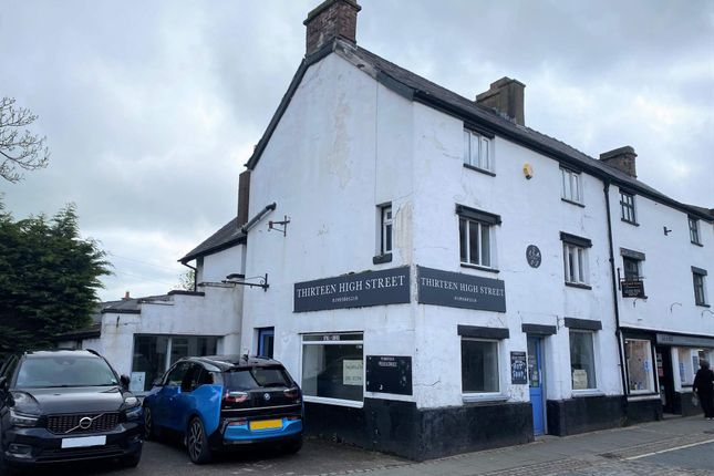 Thumbnail Commercial property for sale in 13 High Street, Garstang