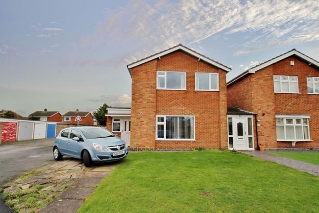 Thumbnail Link-detached house for sale in Farriers Way, East Goscote, Leicestershire