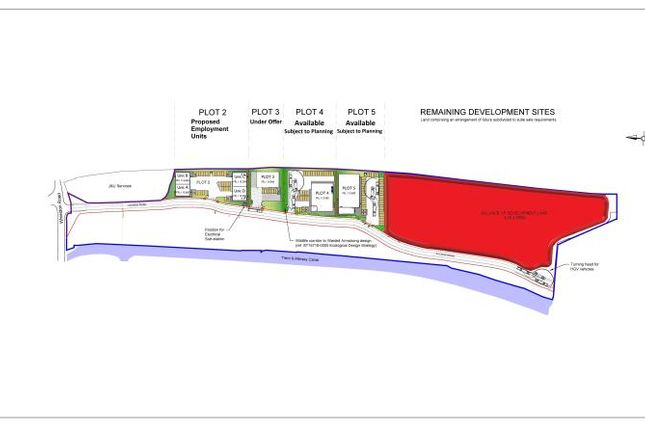 Thumbnail Land for sale in City Island, Whieldon Road, Stoke-On-Trent