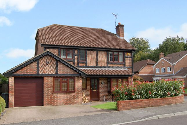 Thumbnail Detached house for sale in Firs Drive, Hedge End, Southampton