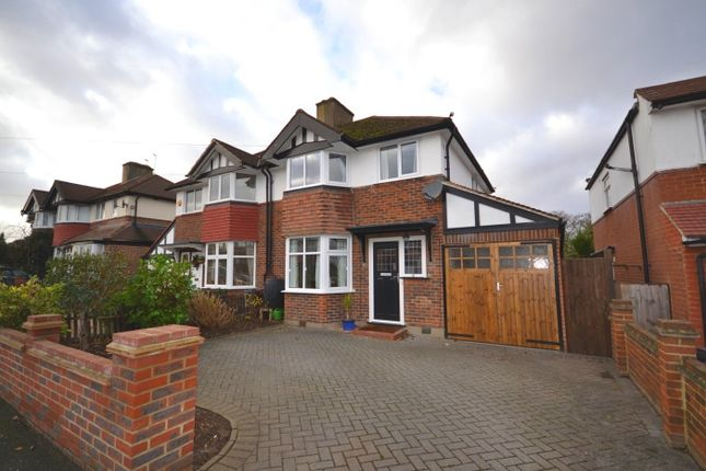 Thumbnail Semi-detached house to rent in Chiltern Drive, Berrylands, Surbiton
