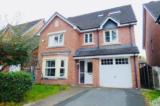 Thumbnail Detached house for sale in Greenwood Place, Eccles, Manchester