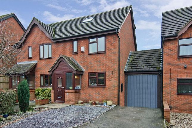 Thumbnail Semi-detached house for sale in Peak Close, Armitage, Rugeley