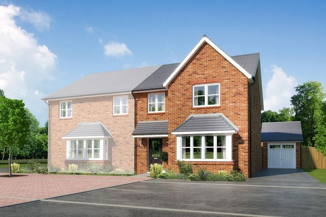 """Thumbnail Semi-detached house for sale in """"Parkside"""" at Close Lane, Alsager, Stoke-On-Trent"""