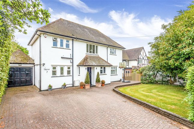 Thumbnail Detached house for sale in Hartsbourne Avenue, Bushey Heath, Hertfordshire