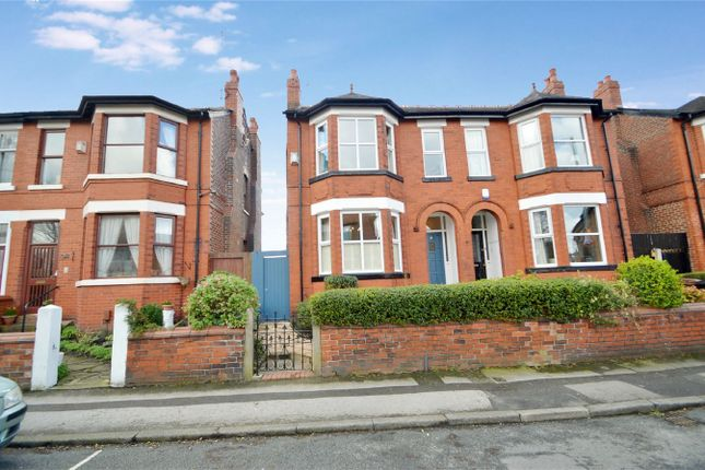 Thumbnail Semi-detached house for sale in Woodsmoor Lane, Woodsmoor, Stockport, Cheshire