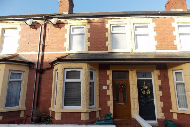 Thumbnail Terraced house to rent in Bendrick Road, Barry, Vale Of Glamorgan