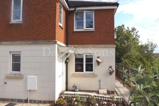 Thumbnail End terrace house for sale in Powis Close, Newport, Gwent.