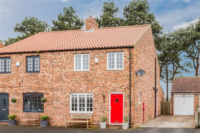 Thumbnail Semi-detached house for sale in Back Lane, Whixley, York, North Yorkshire