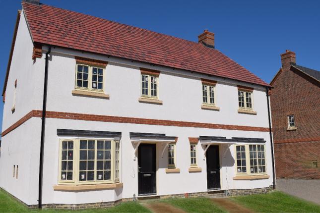 Thumbnail Semi-detached house for sale in Mobbs Close, Olney, Milton Keynes