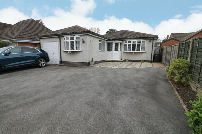 Thumbnail Detached bungalow for sale in Alcester Road, Hollywood, Birmingham