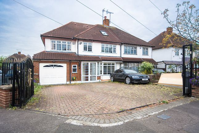 Thumbnail Semi-detached house for sale in Hillside Avenue, Woodford
