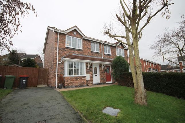 Thumbnail Semi-detached house for sale in Cornflower Grove, Ketley, Telford