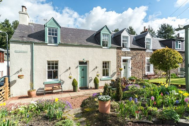 Thumbnail End terrace house for sale in Cotland Place, Stow, Galashiels, Borders