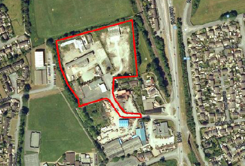 Land for sale in Mold Road, Wrexham