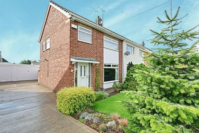 Thumbnail Semi-detached house for sale in Compass Road, Hull