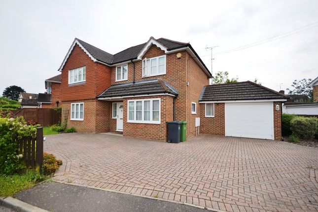 Thumbnail Detached house to rent in Bedford Crescent, Frimley Green, Camberley