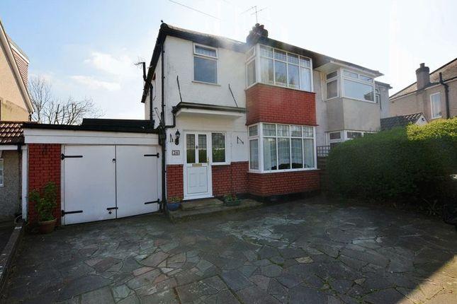 Thumbnail Semi-detached house for sale in Park Crescent, Harrow Weald, Harrow
