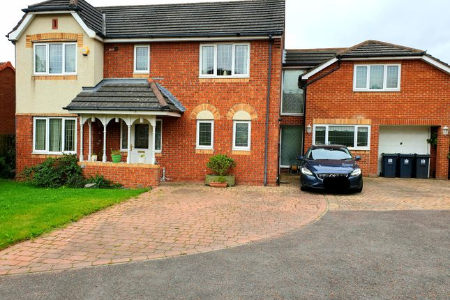 Thumbnail Detached house for sale in Greenrigg Close, Faverdale, Darlington
