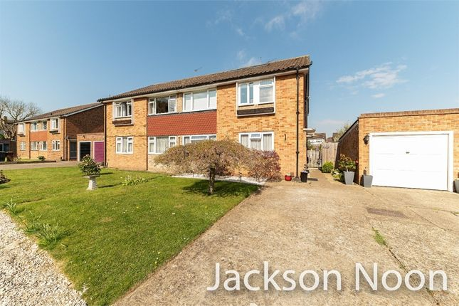 3 bed maisonette for sale in Nightingale Drive, West Ewell, Epsom KT19