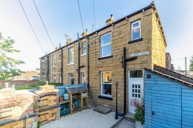 2 bed terraced house to rent in St. Johns Avenue, Batley WF17