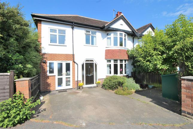 Thumbnail Semi-detached house for sale in Gwenbrook Road, Beeston, Nottingham