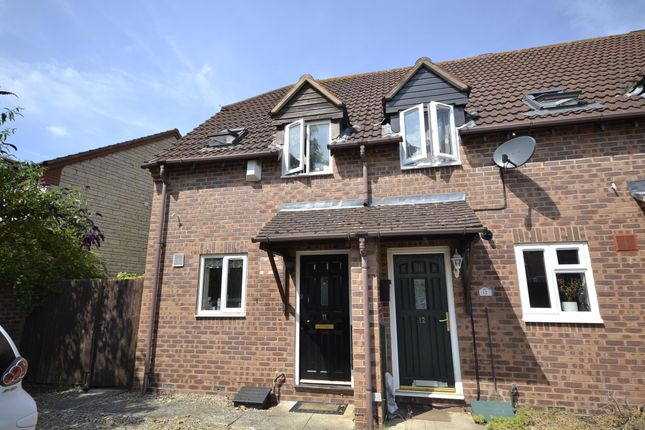 Thumbnail End terrace house to rent in The Cloisters, Bishops Cleeve