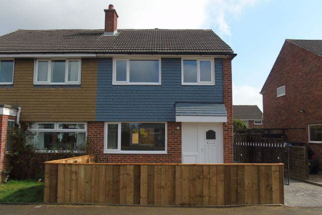 Thumbnail Semi-detached house for sale in Mitford Crescent, Stockton-On-Tees