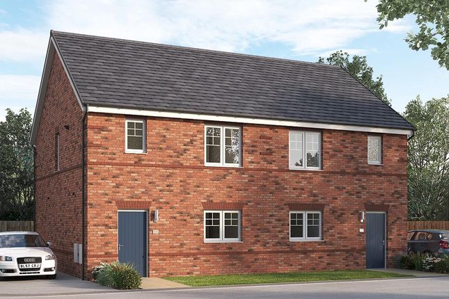 """Thumbnail Semi-detached house for sale in """"The Queensbridge Semi Detached"""" at William Nadin Way, Swadlincote"""