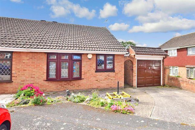 Thumbnail Semi-detached bungalow for sale in Bradbourne Way, Pitsea, Basildon, Essex