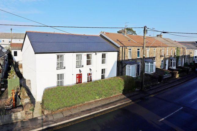 Thumbnail Semi-detached house for sale in Dyffryn Terrace, Church Village, Pontypridd