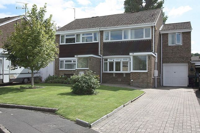 Thumbnail Semi-detached house for sale in Barra Close, Highworth, Swindon