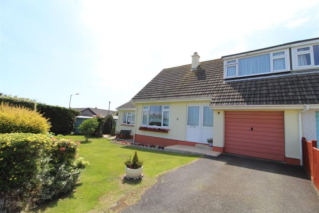 Thumbnail Semi-detached bungalow for sale in Gwealdues, Helston
